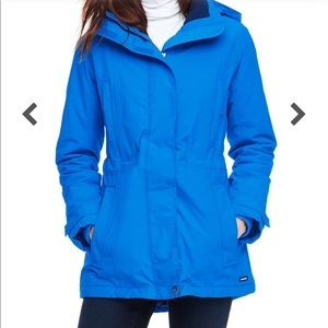 Lands End Pool Blue Squall Parka